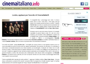 CinemaItaliaUK Cinemaitaliano.info applausi