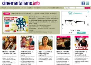 CinemaitaliaUK CinemaItaliano.info prima pagina