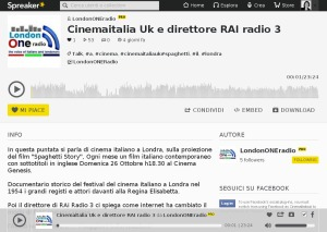 CinemaItaliaUK London1radio